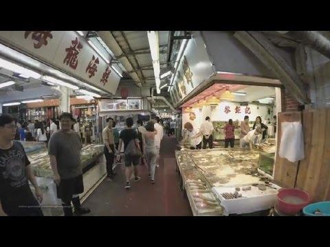 【Hong Kong Walk Tour】Lei Yue Mun - Famous Seafood Restaurant Street (Part 2)