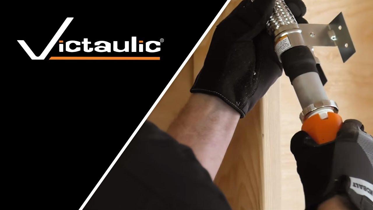 Victaulic Style VS1 VicFlex™ Dry Sprinkler Balcony Horizontal Sidewall  Installation Instructions