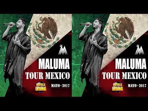 Maluma Tour Mexico 2017 /MORELIA/ CUERNAVACA/ TIJUANA/ MEXICALI/ GUADALAJARA