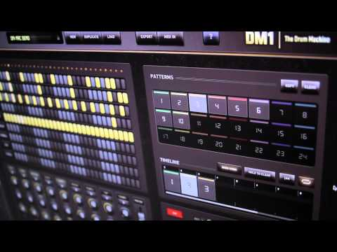 DM1 - THE DRUM MACHINE - FOR MAC OSX