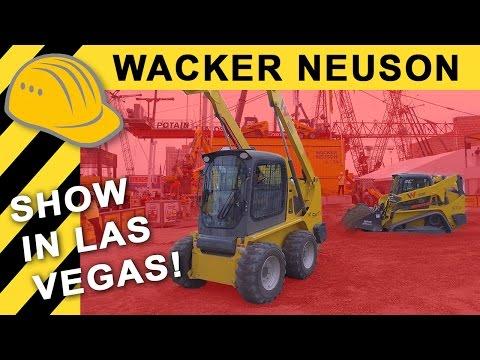 WACKER NEUSON DEMOSHOW CONEXPO    60 JAHRE in USA