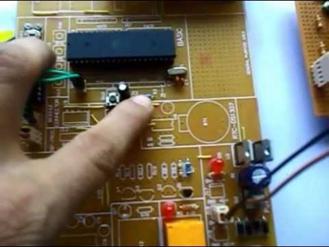 Automatic Room Light Controller With Visitor Counter Hbeonlabs Youtube