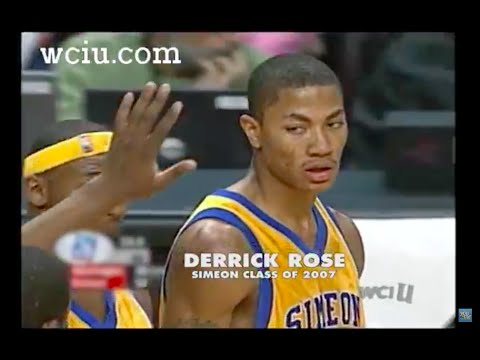 Newly Discovered Derrick Rose High School Highlights!