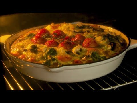 Fully Loaded Crustless Quiche