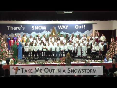 "Monitor Elementary School   4th Grade Choir ""Snow Way Out"""