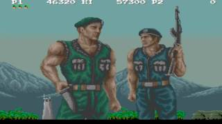 M.I.A. Missing in Action Objective 1-2-3 1989 Konami Mame Retro Arcade Games