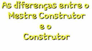 As diferenças entre o Mestre Construtor e o Construtor. As diferenças dos personagens/Clash of Clans