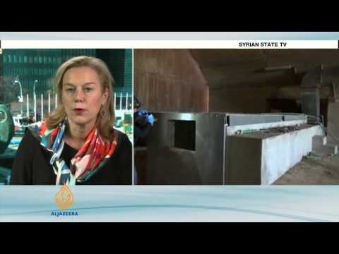 Progress made in removal of Syria's chemical weapons