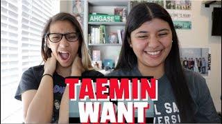 TAEMIN 태민 'WANT' MV REACTION!!!