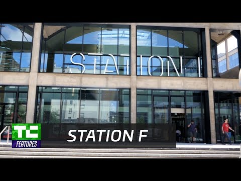 Touring Station F's massive startup campus in Paris
