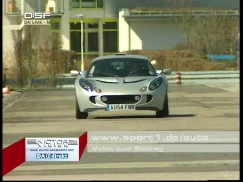 Lotus Exige im Motorvision Tracktest