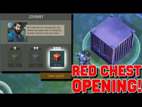 FINALLY, Managed to open the RED BOX. (Smugglers' Event) - Last day on Earth: Survival