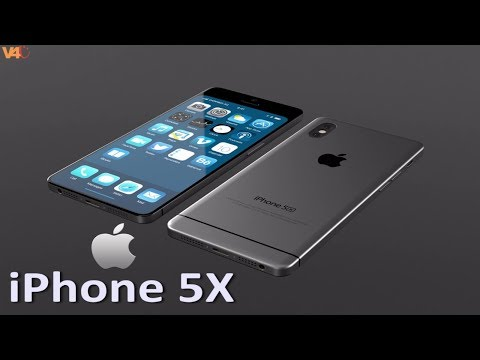 iPhone 5X (2018) Concept Introduction, Dual camera & New Design! -iPhone 5 and iPhone X Mixture