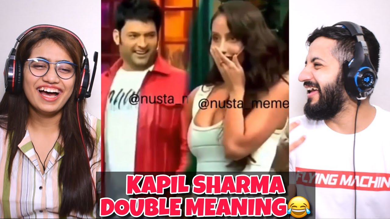Kapil Sharma Double Meaning Funny Video Compilation🤣🤣 | Flirting with Actresses Reaction