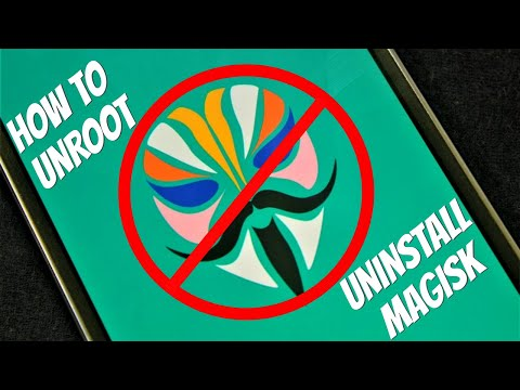 Unroot Any Android - Uninstall Remove Magisk Completely - Xiaomi Mi A2 | Easiest Way !!
