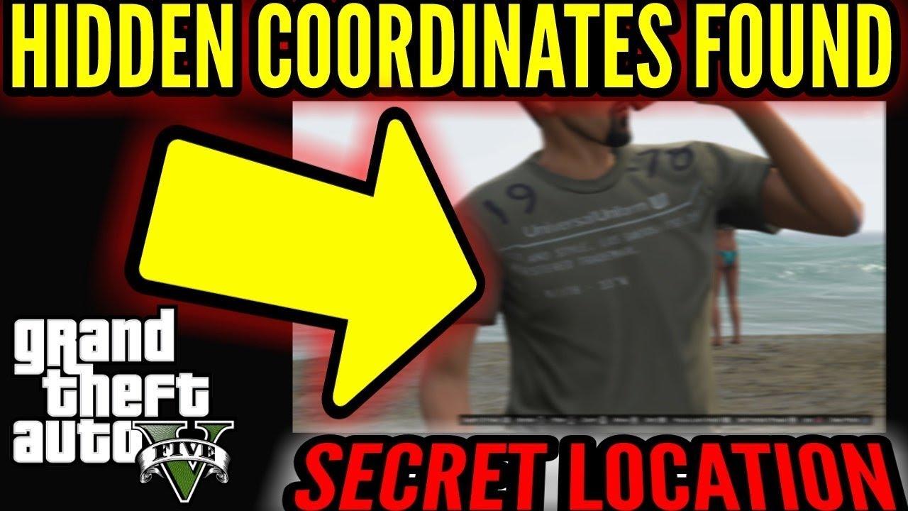 GTAV HIDDEN COORDINATES FOUND! SECRET LOCATION!