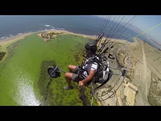 PXP Paramotor - Paratrike Nimble - Video