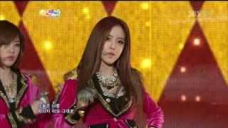 121229 T-ara - Sexy Love Remix @ SBS Gayo Daejun