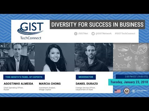 GIST TechConnect: Diversity for Success in Business