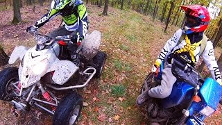 Riders and their fast toys ( ATV + Cross ) Polaris + Suzuki + Yamaha