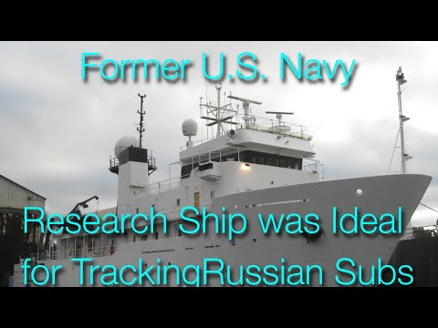 Research Vessel/Expedition Yacht Conversion 224' ex US Navy