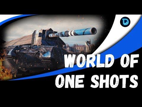 РАЗДАЕМ ВАНШОТЫ НА БАБАХЕ   Стрим КОРМ2 World Of Tanks