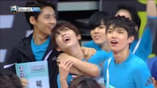 【TVPP】 Changjo(TEEN TOP)–M 60m Race Preliminary, 창조(틴탑)-남자 60m 달리기 예선 @2015 Idol Star Championship