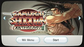 Samurai Shodown Anthology (VI) | Wii Wednesdays #7