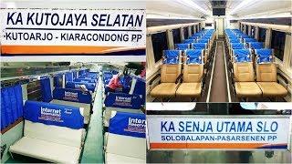 Trip By Train Mudik Naik Kutojaya Selatan Sambung Senja Utama Solo