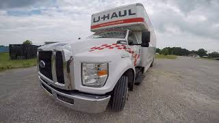 2017 Ford F-650 with V10 Triton Review- 26ft U-Hual