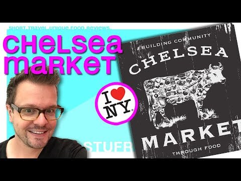 New York City - visiting Chelsea Market [ travel vlog & food review ]