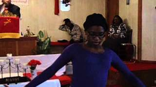 DIAMOND BROWN: DIAMOND PRAISE DANCE!!