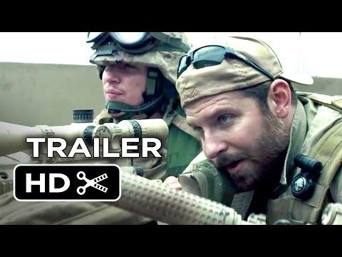 American Sniper Official Trailer #1 (2015) - Bradley Cooper Movie HD