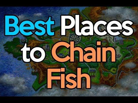Best Places To Chain Fish | Pokemon X Y