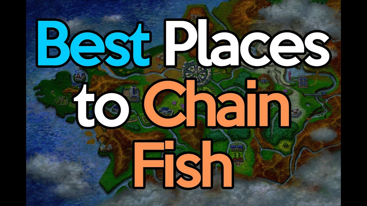 Best places to chain fish pokemon x y youtube for Best places to fish