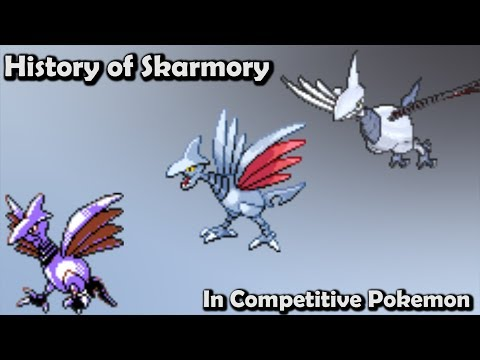 How GOOD Was Skarmory ACTUALLY? - History Of Skarmory In Competitive Pokemon (Gens 2-6)