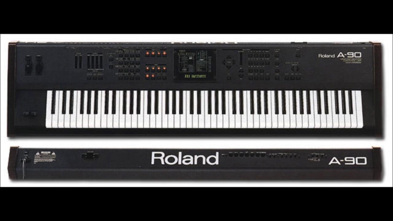 Roland A-90EX Expandable Controller Driver PC