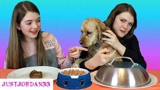 Real Food vs  Dog Food /JustJordan33