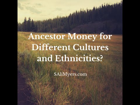 Ancestor Money for Different Cultures and Ethnicities?