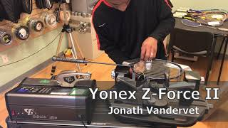 Time Lapse: How to String a Yonex Z-Force II Badminton Racquet