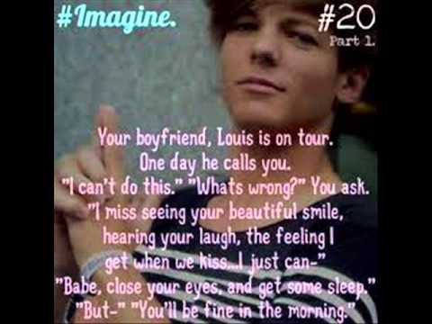 onedirection louis tomlinson imagines part 1 youtube