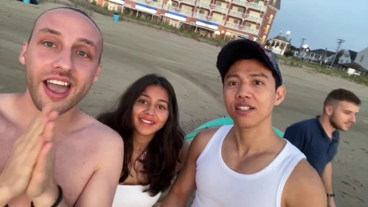 BTS, Blackpink Karaoke at Rehoboth Beach Sunrise by Reactions Unlimited