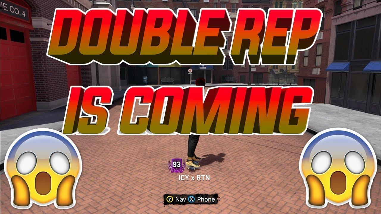 NBA 2K18 - DOUBLE REP DATES!!!