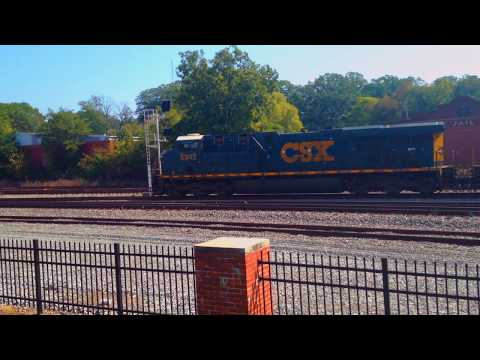 CSX Intermodal  Train Duluth GA