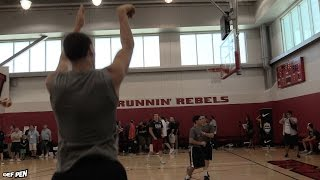 Klay Thompson Post-Practice Shooting | Putting Up Shots at Team USA Practice