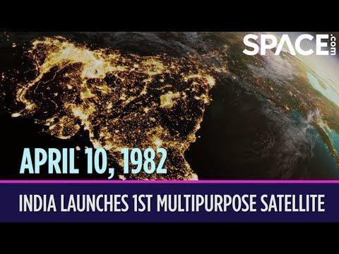 OTD in Space – April 10: India Launches 1st Multipurpose Satellite
