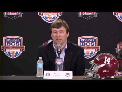 Alabama Gets Set for Irish Offensive Attack
