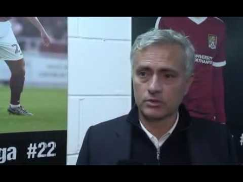 José Mourinho's interview after Northampton cup win 2016