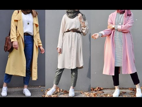 5f161f13a تنسيق ملابس محجبات للربيع 2019 Early Spring Hijab Lookbook
