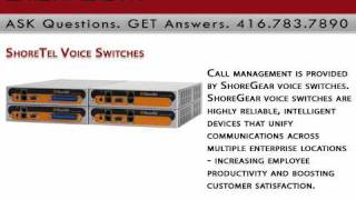 ShoreTel Voice Switches Digitcom.ca Business Phone Systems